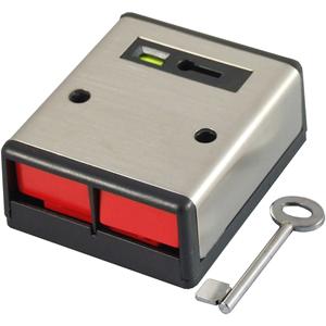 CQR PADP2 Drukknop - Roestvrijstaal - ABS-plastic