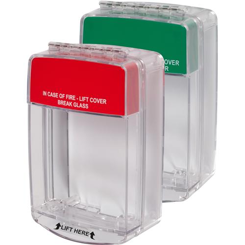 STI Euro Stopper STI-15C20ML Beschermkap voor Alarmsysteem - Polycarbonaat - Rood, Groen