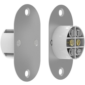 CQR FC509MT2 Magnetisch contact - SPST (N.O.) - 25 mm Spleet - voor Deur - Flushmount - Wit