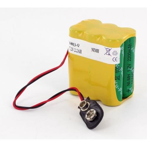 Visonic Batterij - 2200 mAh - Nickel Metal Hydride (NiMH) - 7,2 V DC - Oplaadbare batterij