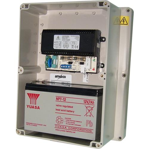 Amseco Stroomvoorziening - 120 V AC, 230 V AC Ingangspanning - 13,8 V DC Output Voltage - Doos
