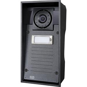 2N Helios IP Force Video deur telefoon substation - 135° Horizontal - 109° Vertical - Volledige duplex - Deur