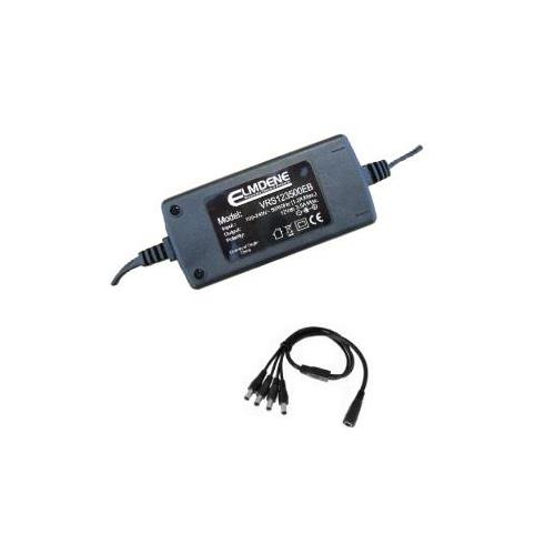 Elmdene Vision AC-adapter voor Toegangscontrolesysteem - 120 V AC, 230 V AC Ingangspanning - 12 V DC Output Voltage - 1 A Uitgangsstroom