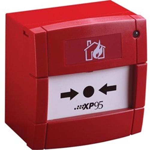 Apollo XP95 Handmatig oproeppunt - Rood - Polycarbonaat, ABS-plastic