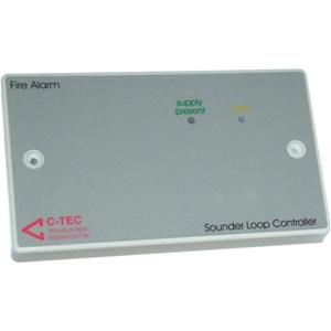 C-TEC Alarmsirene regelaar - Voor Alarmcommunicator - Lichtgrijs, Wit - PVC