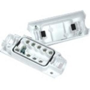 Elmdene EN3-JB9-HD Montagedoos - ABS-plastic, Polyvinylchloride (PVC) - Wit