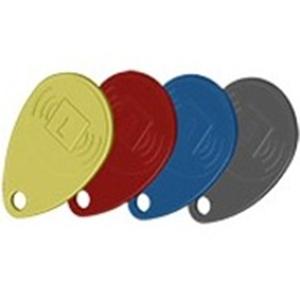 Honeywell Proximity tag - 4 - Zwart, Rood, Geel, Blauw