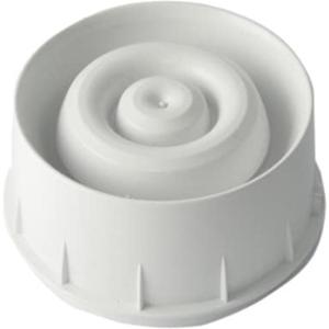Notifier NFXI-WS-W Beveiligingsalarm - Bedraad - 28 V DC - 97 dB(A) - Visueel, Hoorbaar - Op muur monteerbaar - Rood