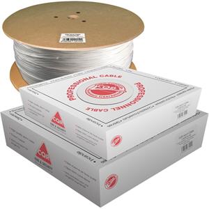 CQR Control kabel - 100 m - Kaal draad - Kaal draad