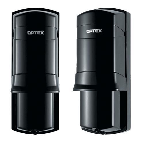 Optex AX-70T Foto-elektrische straaldetector - Dubbele straal - 21,03 m Outdoor Range - 49,99 m Bereik binnenshuis - Monteerbaar op paal, Op muur monteerbaar