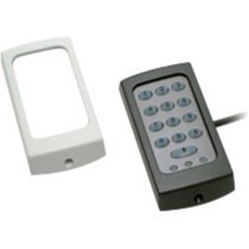 Paxton Access KP75 Toegangsapparaat voor kaartlezer - Zwart, Wit - Deur - Proximity - 1 Deur(en) - 300 mm bereik - 12 V DC - Oppervlakbevestiging