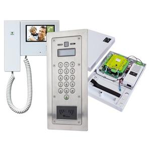 Paxton Access Net2 Entry Video deur telefoon substation - Roestvrijstaal - Deur