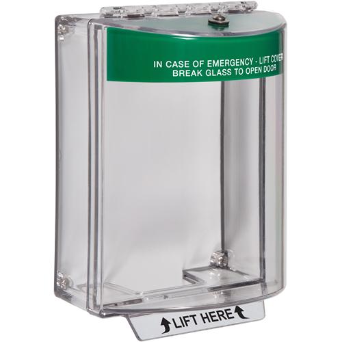 STI Universal Stopper Beschermkap voor Meldpunt - Indoor, Outdoor - Polycarbonaat - Groen