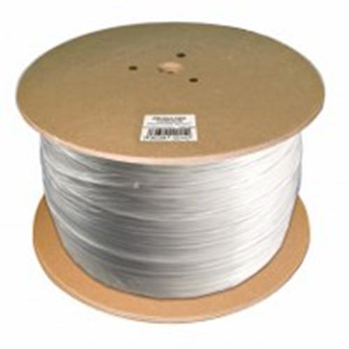 CQR Control kabel - 500 m - Kaal draad - Kaal draad - Wit