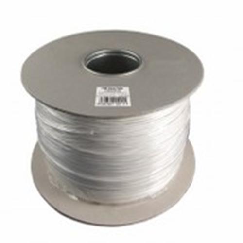 CQR Control kabel voor Alarm - 100 m - Kaal draad - Kaal draad - Wit