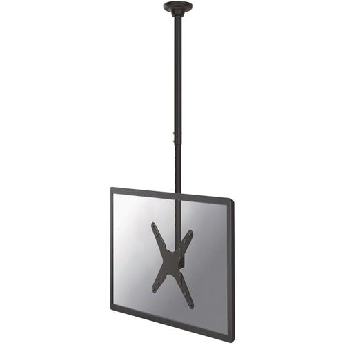 NewStar FPMA-C340BLACK Plafondsteun voor Plat scherm - Zwart - 1 Display(s) Supported190,5 cm scherm support - 50 kg laadcapaciteit