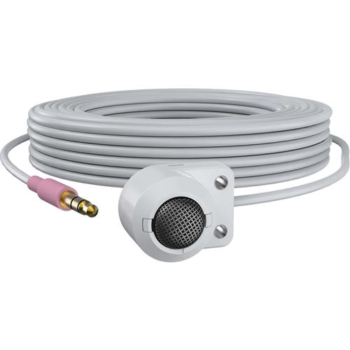 AXIS T8351 Mk II Microfoon - 20 Hz naar 20 kHz - Bedraad - 5 m -22 dB - Condenser - Hemisferisch, Omnidirectioneel - Muurbevestiging, Plafondsteun - Audio uit