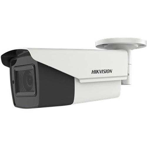 Hikvision Turbo HD DS-2CE19H8T-AIT3ZF 5 Megapixel Surveillance camera - Monochroom, Kleur - 80 m Nachtvisie - 2560 x 1944 - 2,70 mm - 13,50 mm - 5x optische - CMOS - Kabel - Kogel - Bevestiging voor verdeeldoos, Paalmontage, Hoekbevestiging