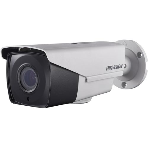 Hikvision Turbo HD DS-2CE16D8T-IT3ZF 2 Megapixel Surveillance camera - Kleur, Monochroom - 60 m Nachtvisie - 1920 x 1080 - 2,70 mm - 13,50 mm - 5x optische - CMOS - Kabel - Kogel - Paalmontage, Bevestiging voor verdeeldoos, Hoekbevestiging