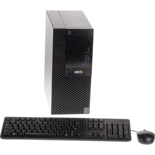 AXIS S1116 MT 32 kanalen Bedraad Videobewakingsstation 8 TB HDD - Camera Station - 4K opnemen