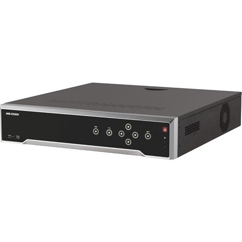 Hikvision DS-7732NI-I4(B) Videobewakingsstation - 32 kanalen - Netwerk-videorecorder - MPEG-4, H.264, H.265 formaten - 30 Fps - Composite video uit - 1 Audio-ingang - 1 Audio-uitgang - 1 VGA-uitgang - HDMI