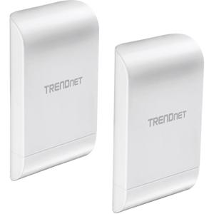 TRENDnet TEW-740APBO2K IEEE 802.11n 300 Mbit/s Wireless Access Point - 2,40 GHz - 2 x Network (RJ-45) - Op muur monteerbaar, Monteerbaar op paal - 2 verpakking