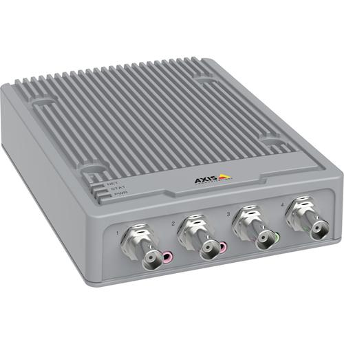 AXIS P7304 Video-encoder - Extern - Functies: Video-encoding - 1920 x 1080 - PAL, NTSC - MPEG-4 - Composite videoNetwerk (RJ-45)