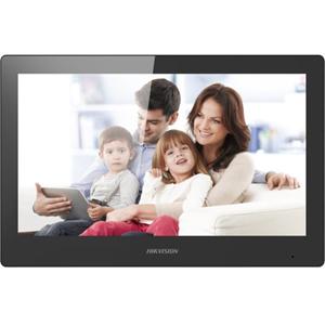 "Hikvision DS-KH8520-WTE1 25,4 cm (10"") Videofoon - Touchscreen TFT LCD - Polycarbonaat, ABS-plastic - Indoor, Appartement"