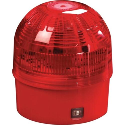 Apollo Intelligent Beveiligingsstroboscoop - Bedraad - 28 V DC - Visueel - Oppervlakbevestiging - Rood, Doorzichtig, Rood