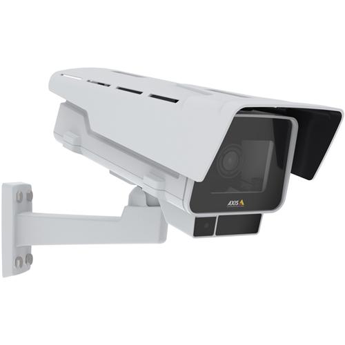 AXIS P1378-LE Netwerkcamera - Box - Motion JPEG - 3840 x 2160 - 2,6x optische - RGB CMOS - Muurbevestiging, Paalmontage, Plafondsteun, Hoekbevestiging, Bevestiging aan geleider