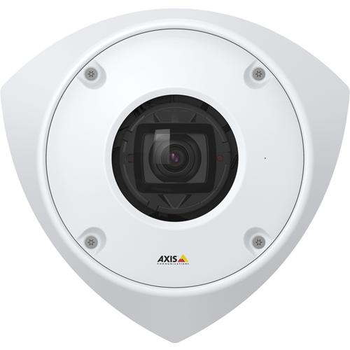 AXIS Q9216-SLV 4 Megapixel Netwerkcamera - dome - 15 m Nachtvisie - H.264, H.265, MJPEG - 2304 x 1728 - RGB CMOS - Bevestiging aan geleider, Hoekbevestiging
