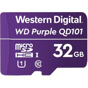 WD Purple WDD032G1P0C 32 GB Klasse 10/UHS-I (U1) microSDHC