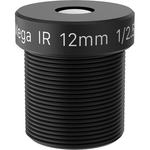 AXIS - 12 mm - f/1,6 - Vaste brandpuntafstand Lens voor M12-bajonet - Ontworpen voor Surveillance camera