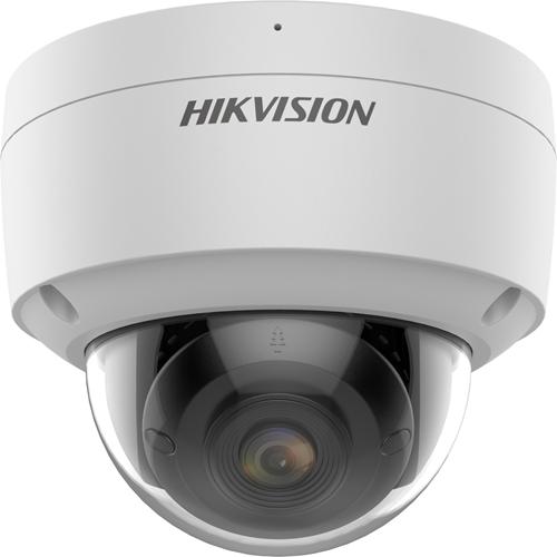 Hikvision EasyIP DS-2CD2147G2 4 Megapixel Netwerkcamera - dome - H.265, H.264, MJPEG - 2688 x 1520 - CMOS - Verticale bevestiging, Paalmontage, Bevestiging voor verdeeldoos, Hoekbevestiging, Muurbevestiging, Hangbevestiging