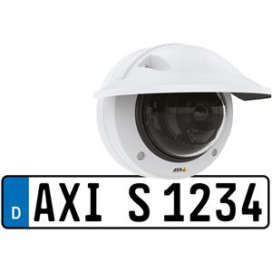 AXIS 02234-001 2 Megapixel Netwerkcamera - dome - 15 m Nachtvisie - MJPEG, H.264, H.265 - 1920 x 1080 - 2,6x optische - RGB CMOS - Bevestiging voor verdeeldoos, Muurbevestiging, Plafondsteun, Beugelmontage, Ingebouwde montage, Hangbevestiging