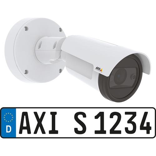 AXIS P1455-LE-3 2 Megapixel Netwerkcamera - dome - 45 m Nachtvisie - MJPEG, H.264, H.265 - 1920 x 1080 - 2,6x optische - RGB CMOS - Paalmontage, Bevestiging aan geleider, Hoekbevestiging
