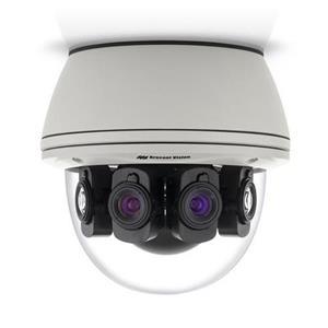 20MP D/N Panoram 180? Gen 5, 10240x1920, 4x6.2mm Lens, Remote Focus, Opbouw, IP66, IK10, 18-48V/PoE