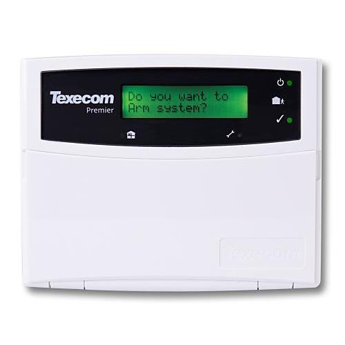 Texecom Premier Elite Codeklavier standaard LCD