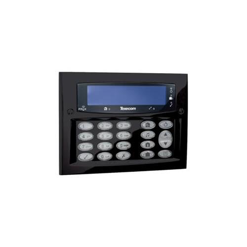 Texecom Premier Elite LCD Codebediendeel Opbouw Zwart