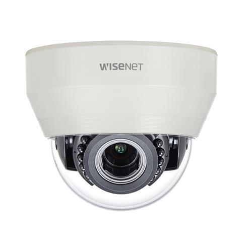 Hanwha Wisenet HDoC Dome camera Voor binnengebruik Resolutie: 2MP Lens: 3.2-10mm MZF