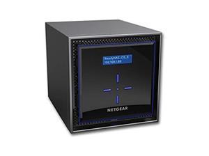 "Netgear ReadyNAS RN424 4 x Total Bays SAN/NAS-opslagsysteem - Bureaublad - 1 x Intel Atom C3338 Dual-core (2 Core) 1,50 GHz - 2 GB RAM DDR4 SDRAM - Serial ATA controller0, 1, 5, 6, 10, JBOD - 4 x 2.5""/3.5"" gleuf - Gigabit Ethernet - eSATA - 2 USB Port(s) - 2 USB 3.0 Port(s) - Netwerk (RJ-45) - ReadyNAS OS 6 - iSCSI, DLNA, LACP, IPv6, NTP, WEBDAV, AFP, SSL/TLS, Bonjour, CIFS, IPv4, ..."