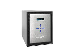 "Netgear ReadyNAS RN526X 6 x Total Bays SAN/NAS-opslagsysteem - Minitoren - Intel Pentium D1508 Dual-core (2 Core) 2,20 GHz - 4 GB RAM DDR4 SDRAM - Serial ATA/600 controller - RAID-ondersteund 0, 1, 5, 6, 10, Hot Spare, JBOD, X-RAID2 - 6 x 2.5""/3.5"" gleuf - 10 Gigabit Ethernet - eSATA - 3 USB Port(s) - 3 USB 3.0 Port(s) - Netwerk (RJ-45) - ReadyNAS OS 6 - iSCSI, NTP, UPnP, FTP, DHCP, LACP, DLNA, IPv6, SMTP, Rsync, WEBDAV, ..."