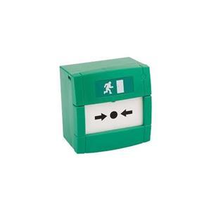 KAC MCP3A-G000SG-13 Drukknop/handmatig oproeppunt - Groen - Glas