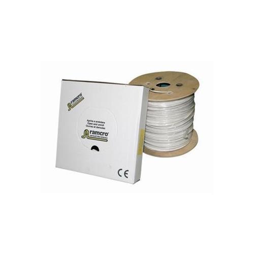 Ramcro Control kabel - 500 m - Afscherming - Kaal draad - Kaal draad - Wit