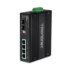 4 x Gigabit PoE + -poorten 2 x speciale SFP-slots 60 - 120 W vermogensbudget 12 Gbps schakelcapaciteit Geharde metalen IP30-schakela ar Inc