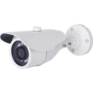 Vaste lens bullet camera 3,6 mm wit 20 m IR-bereik 12VDC-voeding Ondersteunt AHD, TVI en CVI Garantie 5 jaar