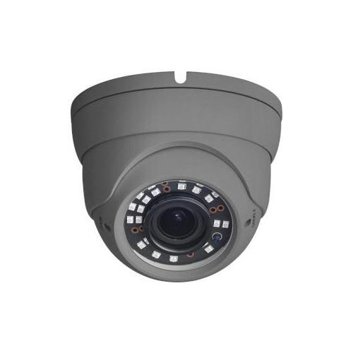 HD1080p, buiten Vari-focal Eyeball 25-30m IR, 12 VDC, OSD-menu, IP67 AHD, TVI, CVI, CVBS Grijs
