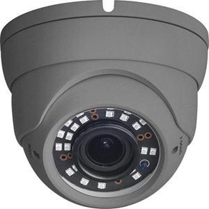 4MP grijze Eyeball Vari-focale 2,8-12mm-lens 12VDC / PoE 40 m IR-bereik Garantie 5 jaar