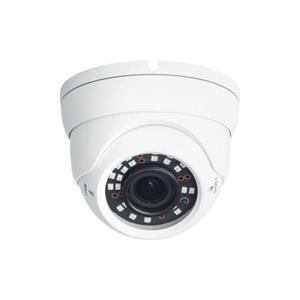 4MP witte Eyeball Vari-focale 2,8-12mm-lens 12VDC / PoE 40 m IR-bereik Garantie 5 jaar