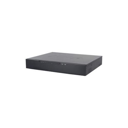 16ch 6M / 5M / 4M / 3M / 2M 15fps /25fps#4.5Mbps opname 160Mbps bandbreedte 4SATA HDD, 1HDMI en VGA Twoway-audio, 2ch I / O 16POE- poorte